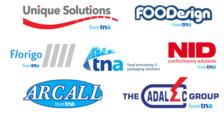 List of brands from tna.