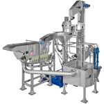 Florigo hydro-wash® WTP 3 is an advanced slice washing system that removes starch to prevent potato slices from sticking together and collects only full size potato slices that are then placed in a single layer for even frying.