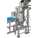 tna Florigo ultra-peel® SKC 3 is an efficient peeler machine that operates in batches, weighing your product, to ensure optimized peeling results from small, medium and large potatoes.