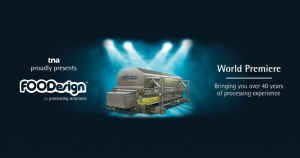 image of a banner with the announcement of FOODesign's acquisition by tna