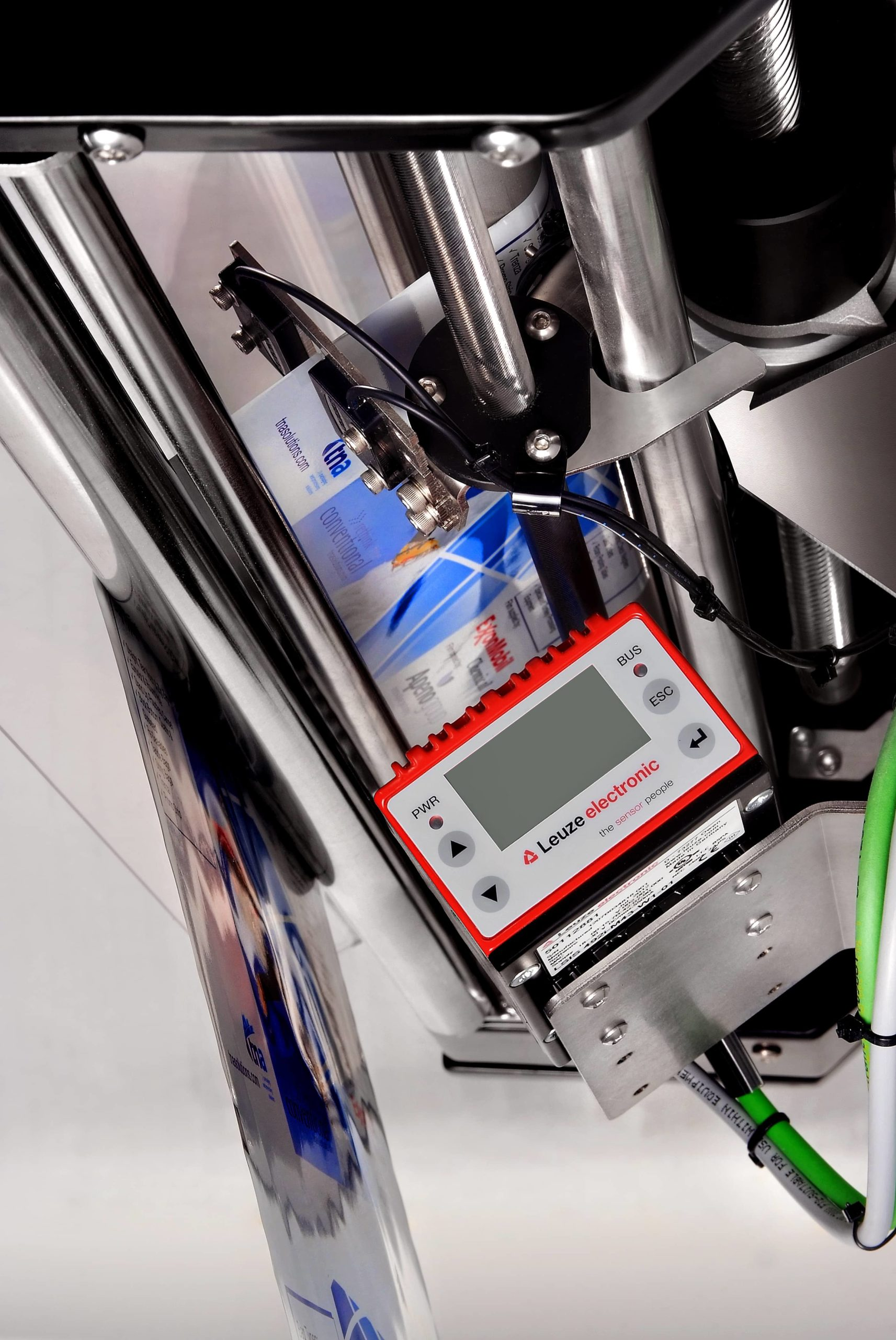 image of tna intelli-read® 3. tna intelli-read® 3 is a barcode system that automatically scans it on your film to verify it is correct for the food product you are running.